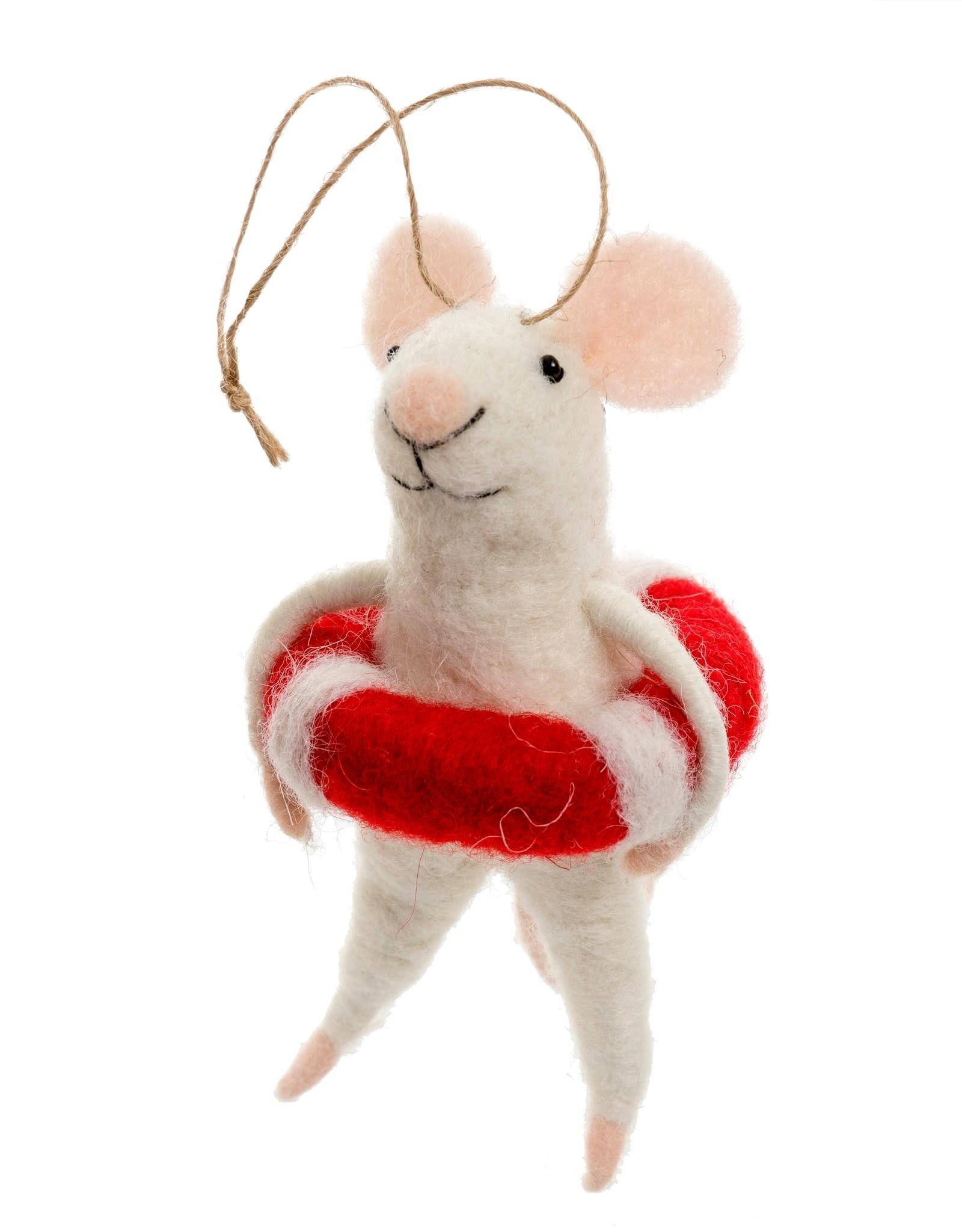 Indaba Lifeguard Lily Mouse Ornament