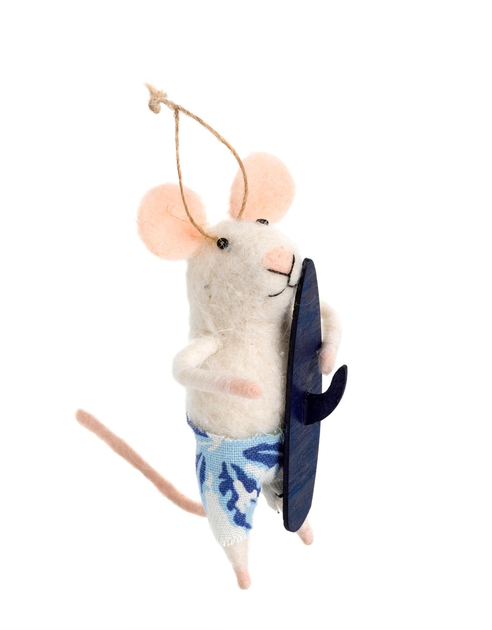 Indaba Surf's Up Sal Mouse Ornament