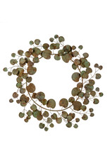 Indaba Iron Eucalyptus Wreath