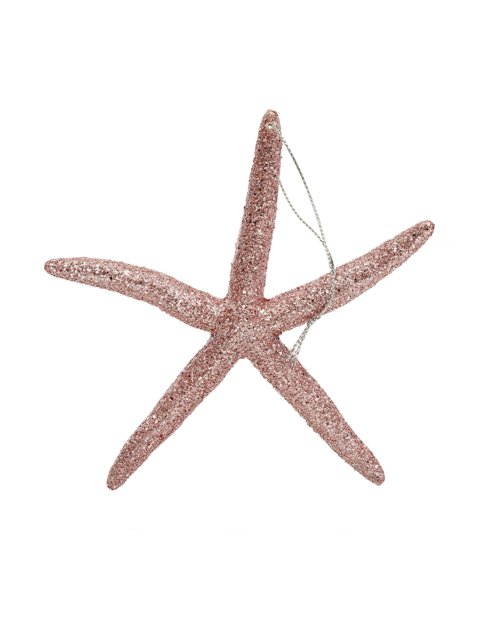 Indaba Sparkly Sea Star Ornament - Pink