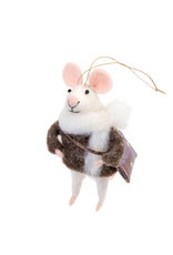 Indaba Collegiate Cam Mouse Ornament