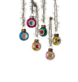 Cody Foster & Co. PREORDER - Single - INDENT BAUBLE ORNAMENT - 6 ASST'D