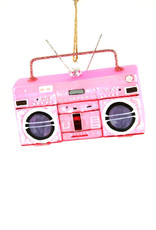 Cody Foster & Co. BOOMBOX ORNAMENT - PINK