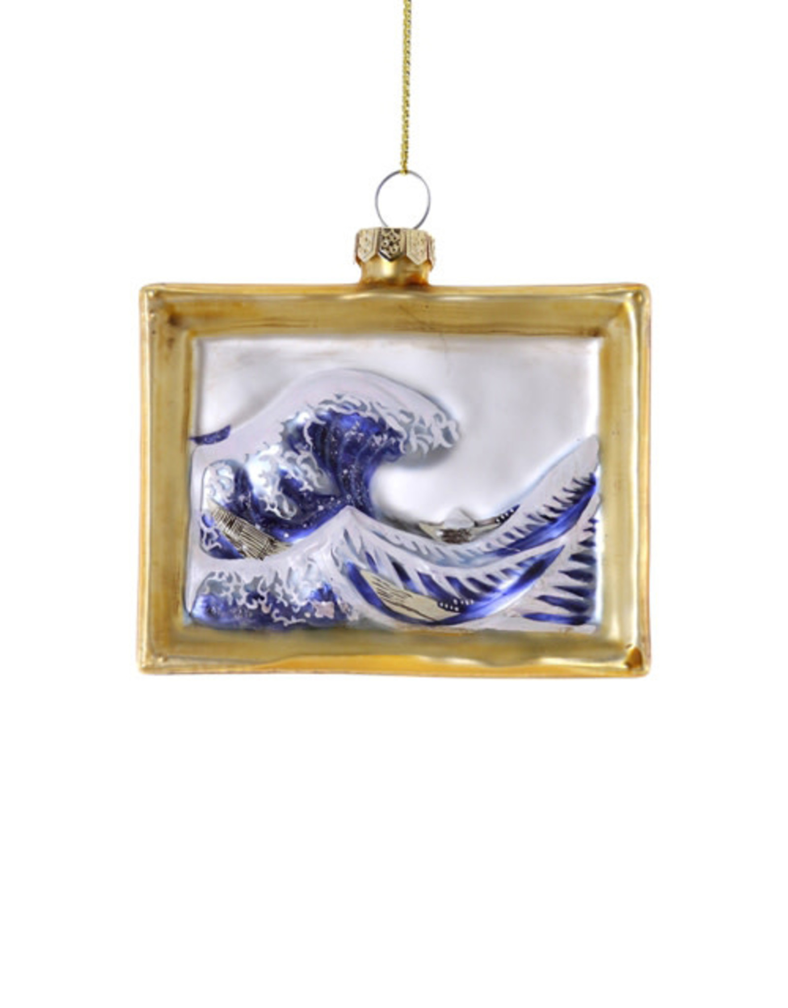 Cody Foster & Co. THE WAVE PAINTING ORNAMENT