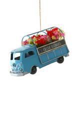Cody Foster & Co. FRESH FLOWERS TRUCK ORNAMENT