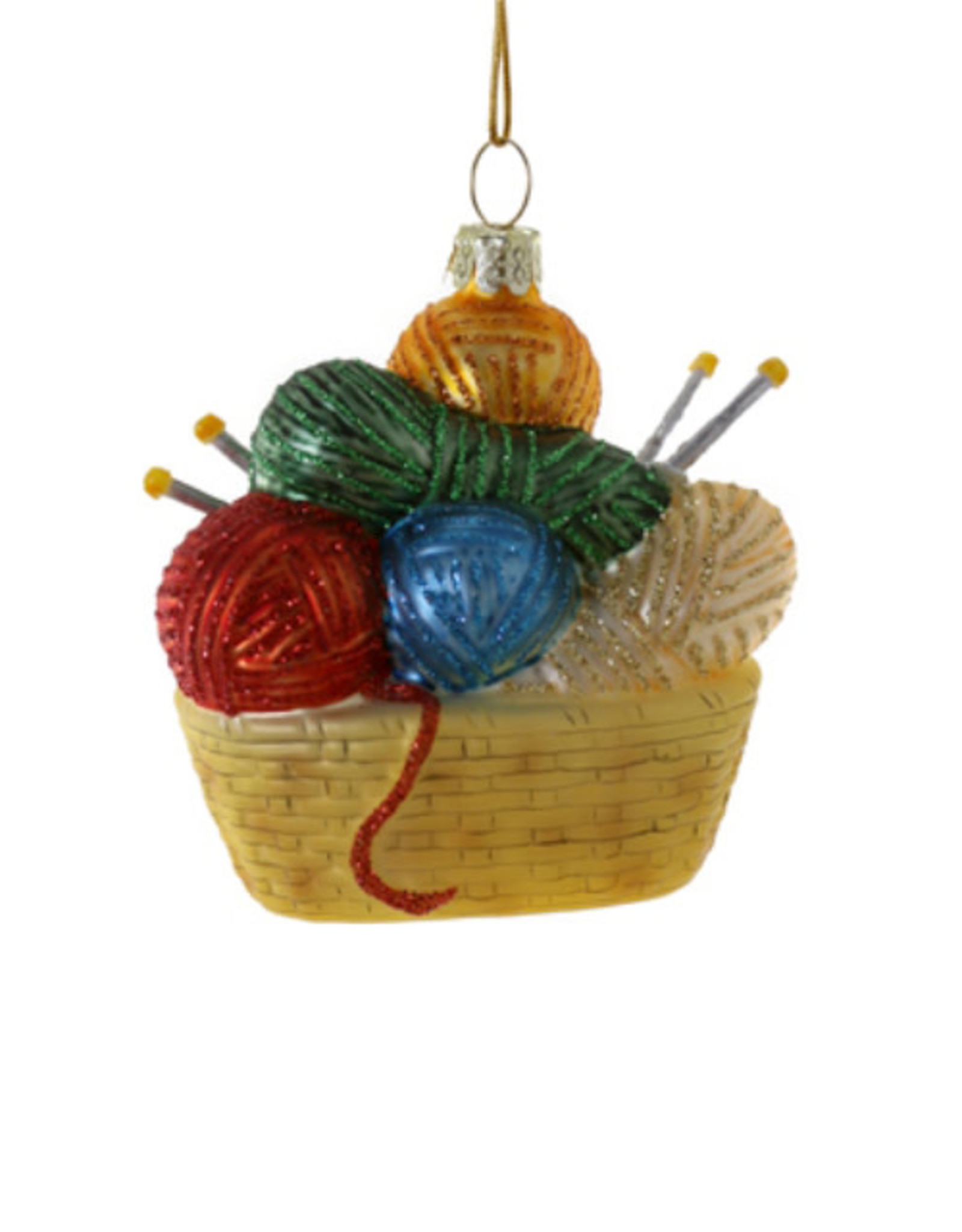 Cody Foster & Co. KNIT HAPPENS ORNAMENT