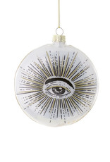 Cody Foster & Co. ALL SEEING EYE DISC ORNAMENT