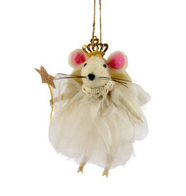 Cody Foster & Co. PREORDER - Angel Mouse Ornament