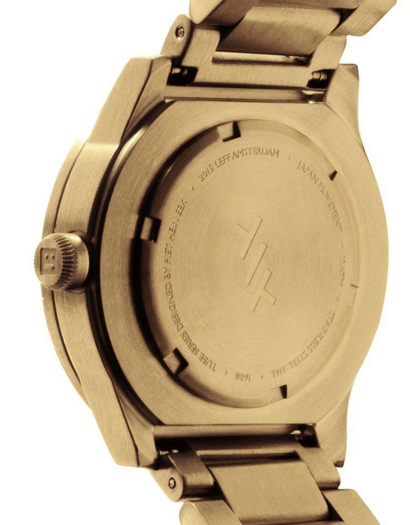 Leff Amsterdam Tube Watch S - Brass