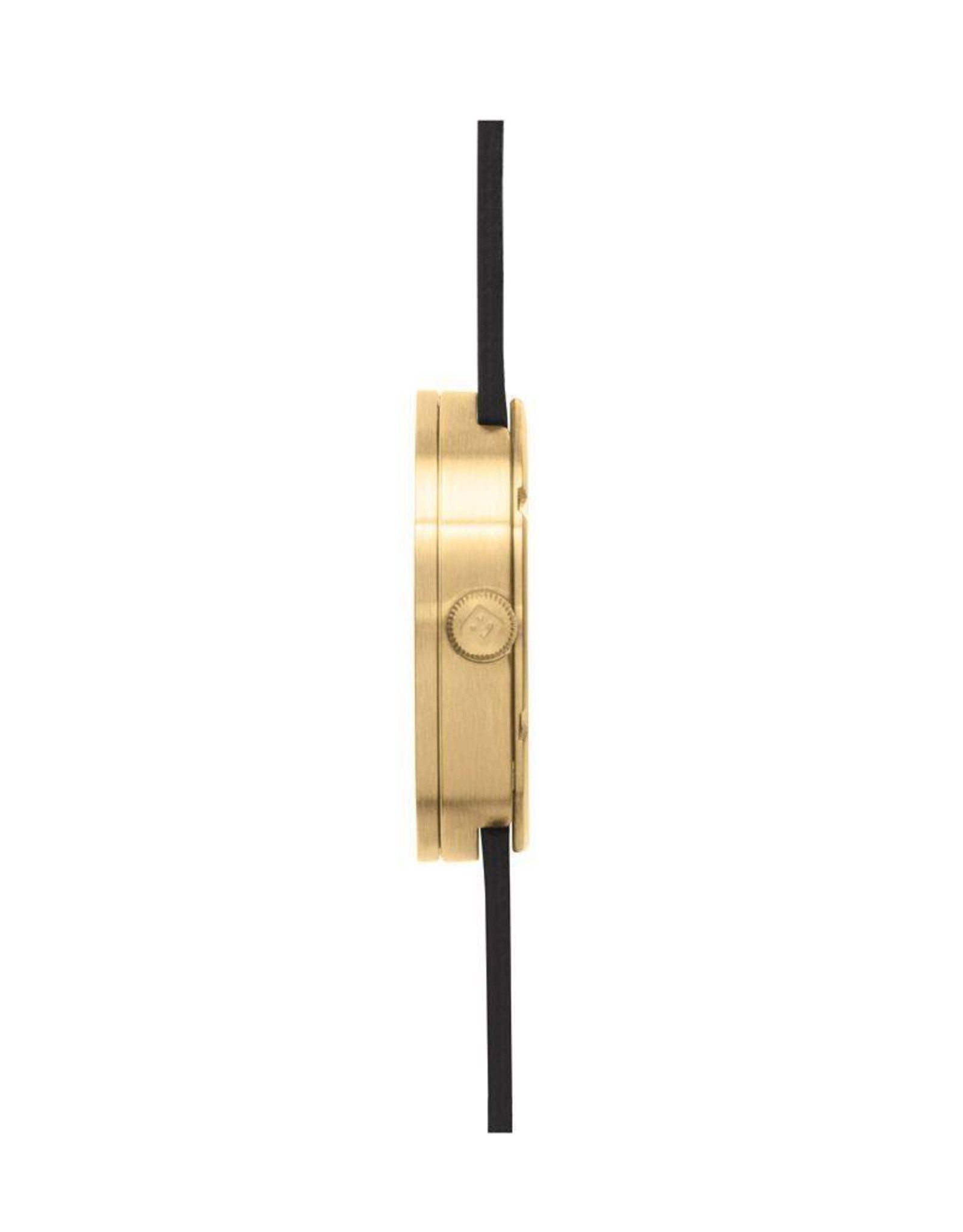 Leff Amsterdam Tube Watch D Leather - Brass