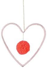 Meri Meri Wire & Wool Heart Decoration