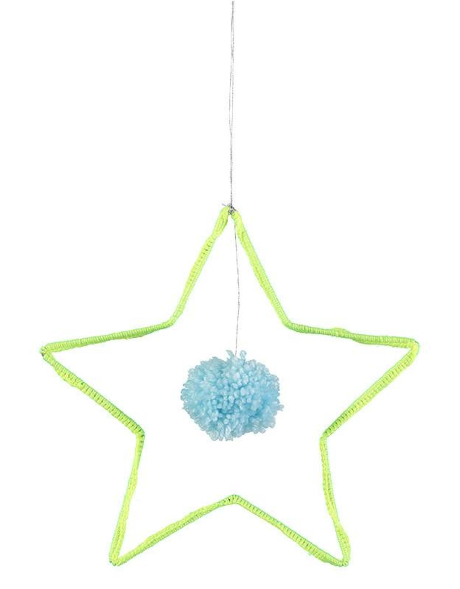 Meri Meri Wire & Wool Star Decoration