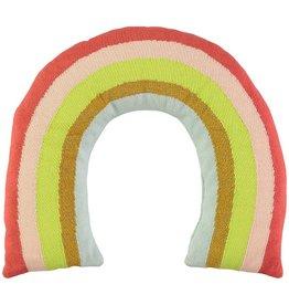 Meri Meri Knitted Rainbow Pillow