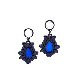 Finn Sofia Earrings - Blue
