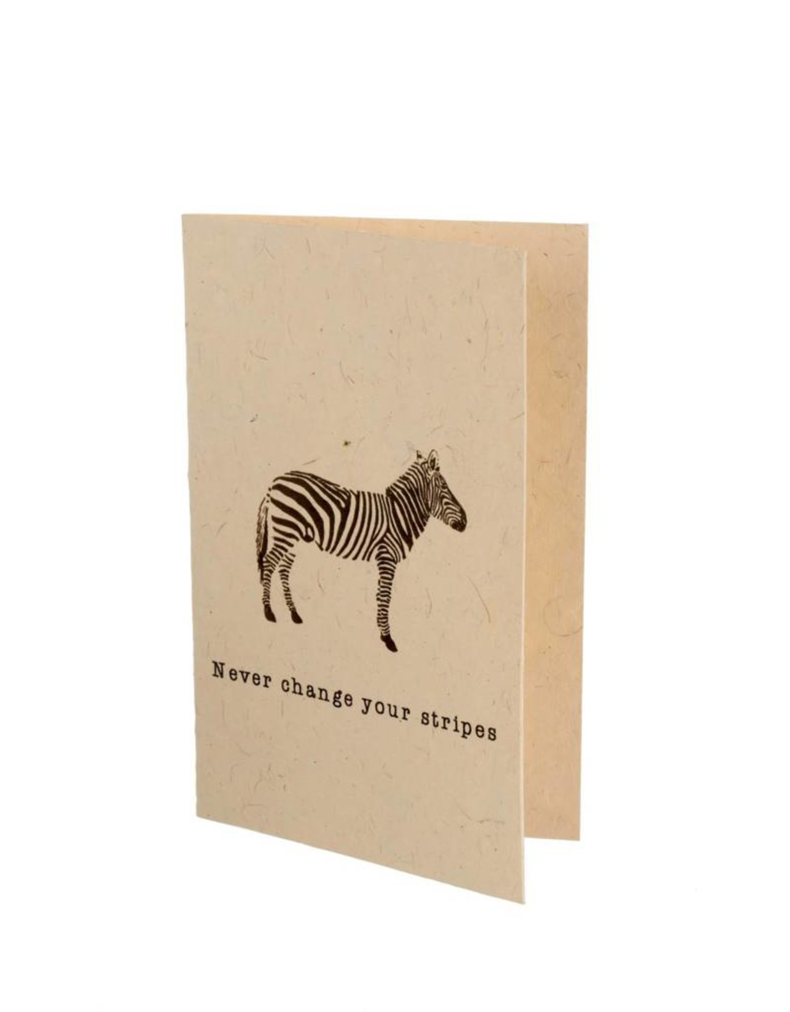 """Indaba """"Never Change Your Stripes"""" Card"""