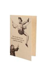 """Indaba """"Slightly Strange"""" Card"""