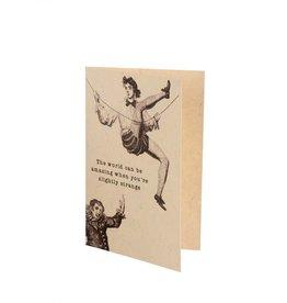 """Slightly Strange"" Card"