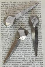 Cubeoctahedron Forged Iron Nail - Nickel
