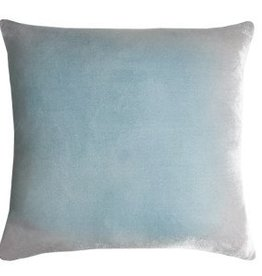 Kevin O'Brien Studio Ombre Silk Velvet Pillow - Robin's Egg