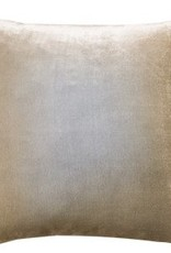 Kevin O'Brien Studio Ombre Silk Velvet Pillow - Nickel