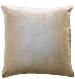 Kevin O'Brien Studio Ombre Silk Velvet Pillow - Nickel