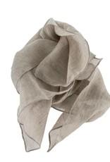 Indaba Antique Dye Napkin - Aluminum