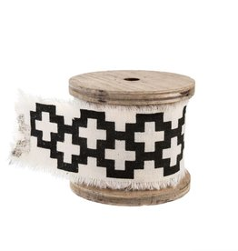 Swiss Cross Ribbon on Spool