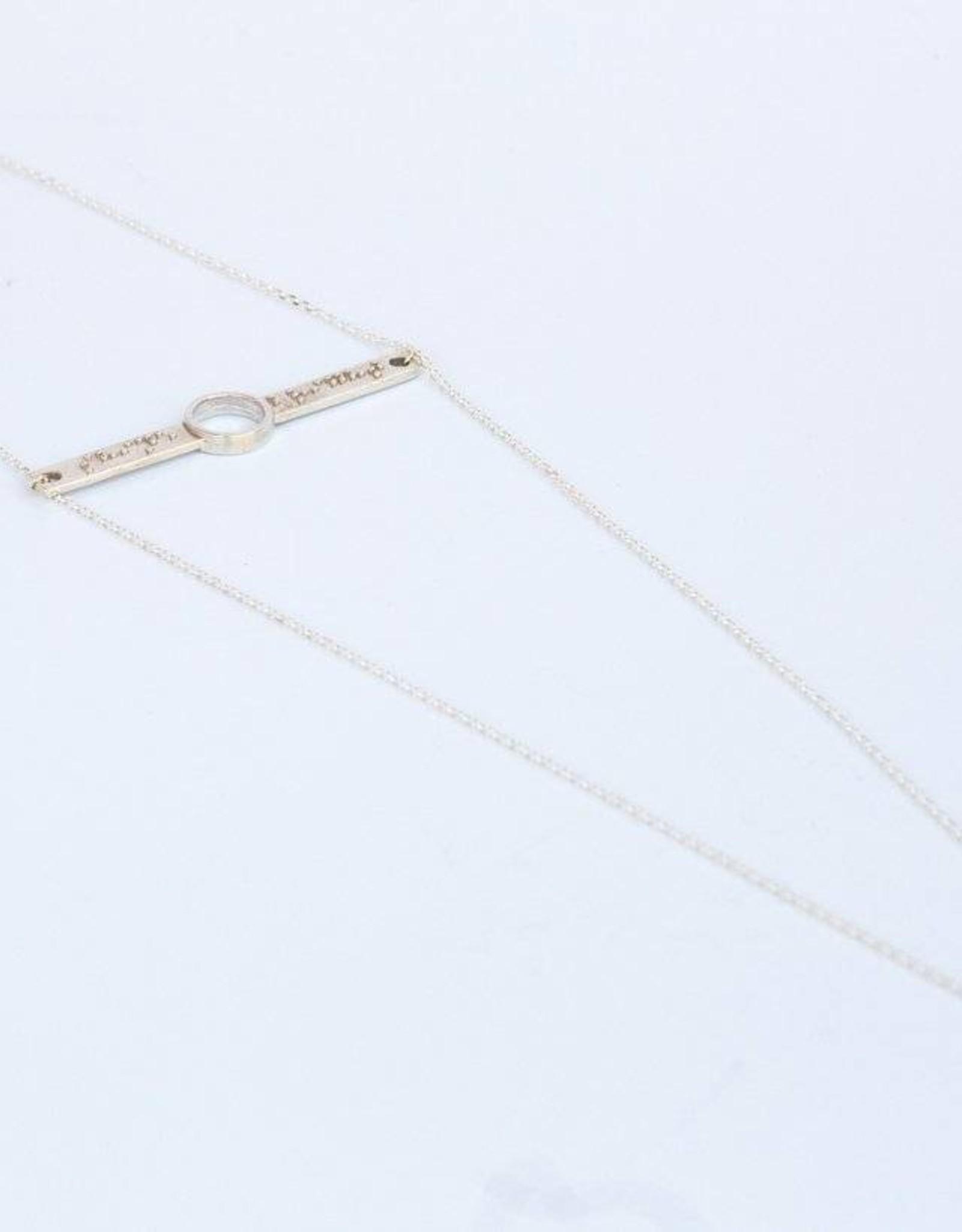 "Covet + Keep Jewelry Jade ""Shine Bright"" Necklace"