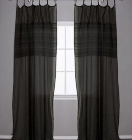 Pom Pom at Home Olivia Curtain Panel - Midnight
