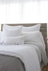 Pom Pom at Home Vintage Crochet King Pillowcases - White