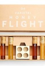 Four Wildflower Varietal Honey Flight