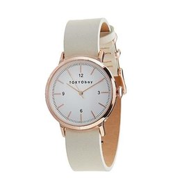 TOKYObay Vela Watch - White