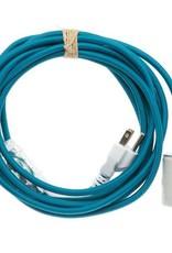 Color Cord Company Porcelain Plug-In Cord Set - Aegean
