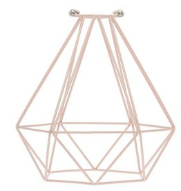 Color Cord Company Geometric Light Bulb Cage - Quartz