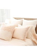 Pom Pom at Home Grace King Pillowcases - Pink Champagne