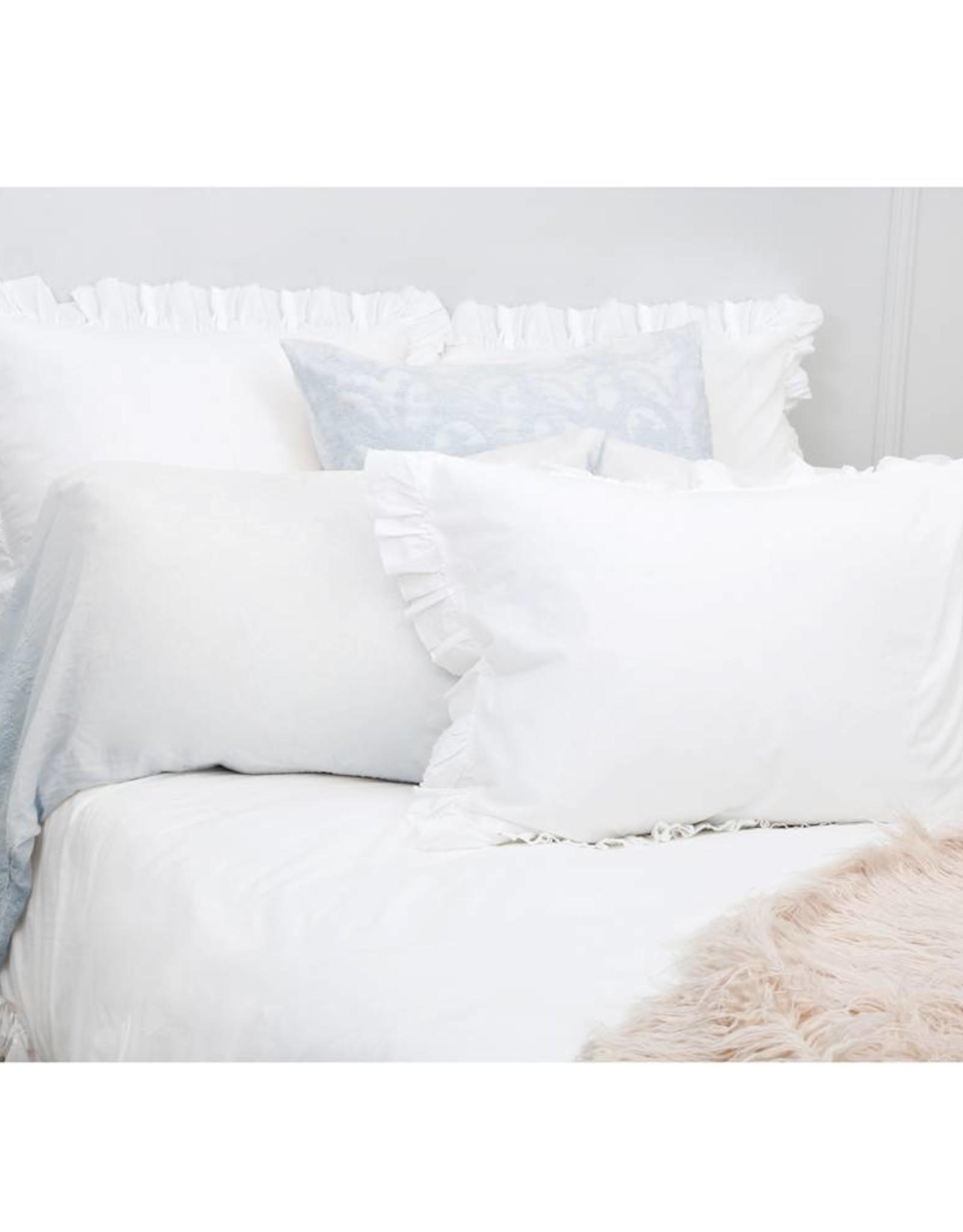 Pom Pom at Home Grace King Pillowcases - Powder Blue