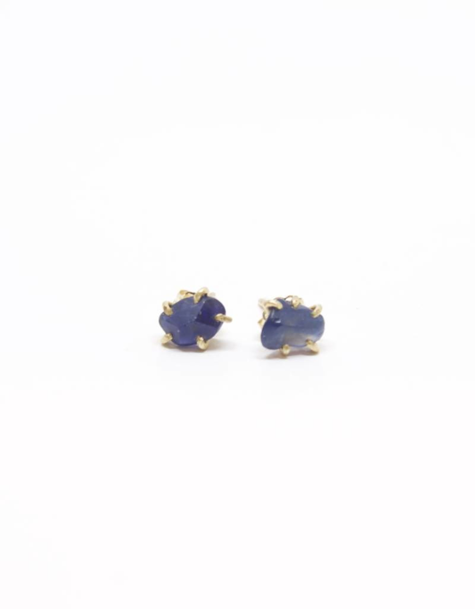 Variance Objects Sapphire Small Studs