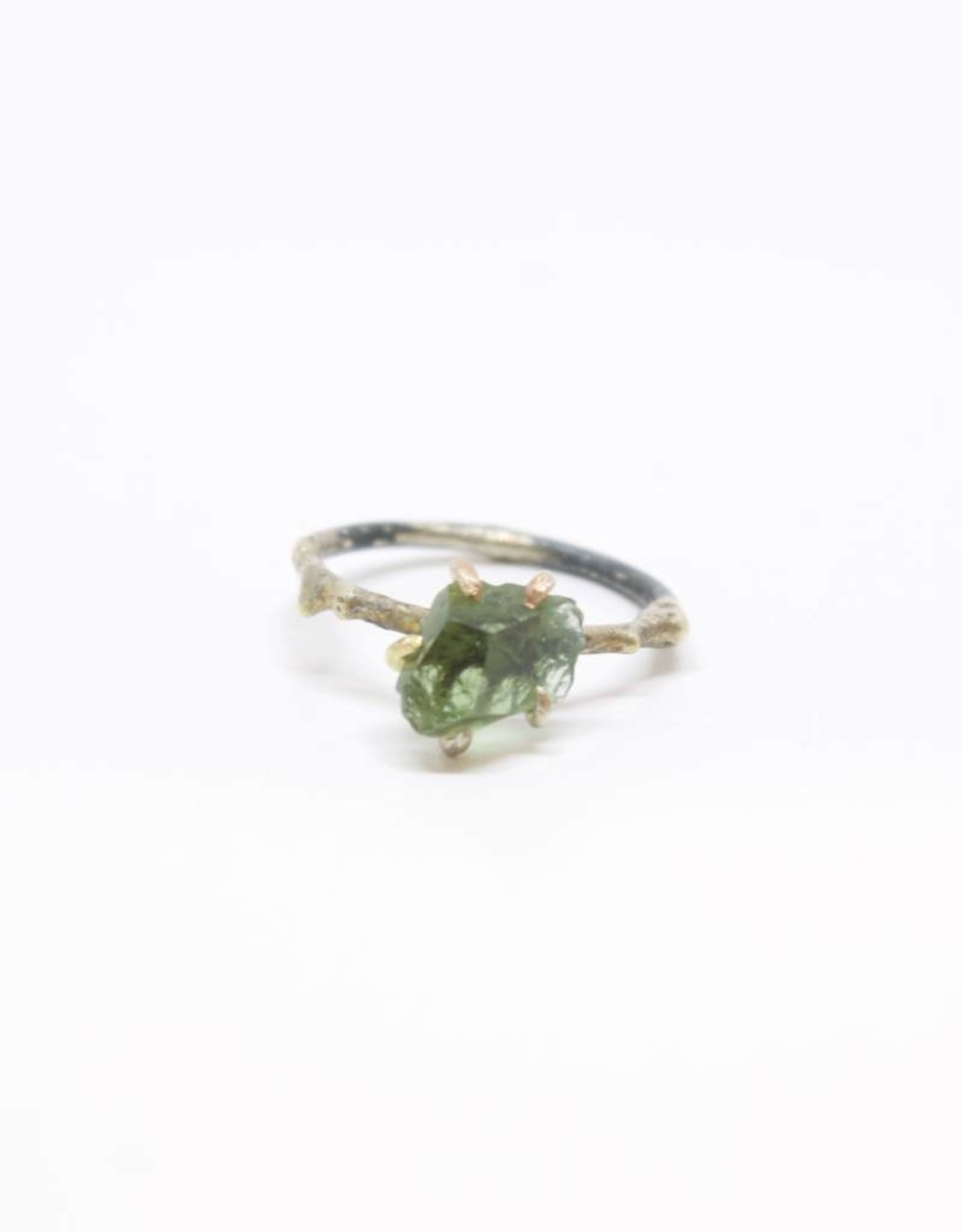 Variance Objects Moldavite Small Ring