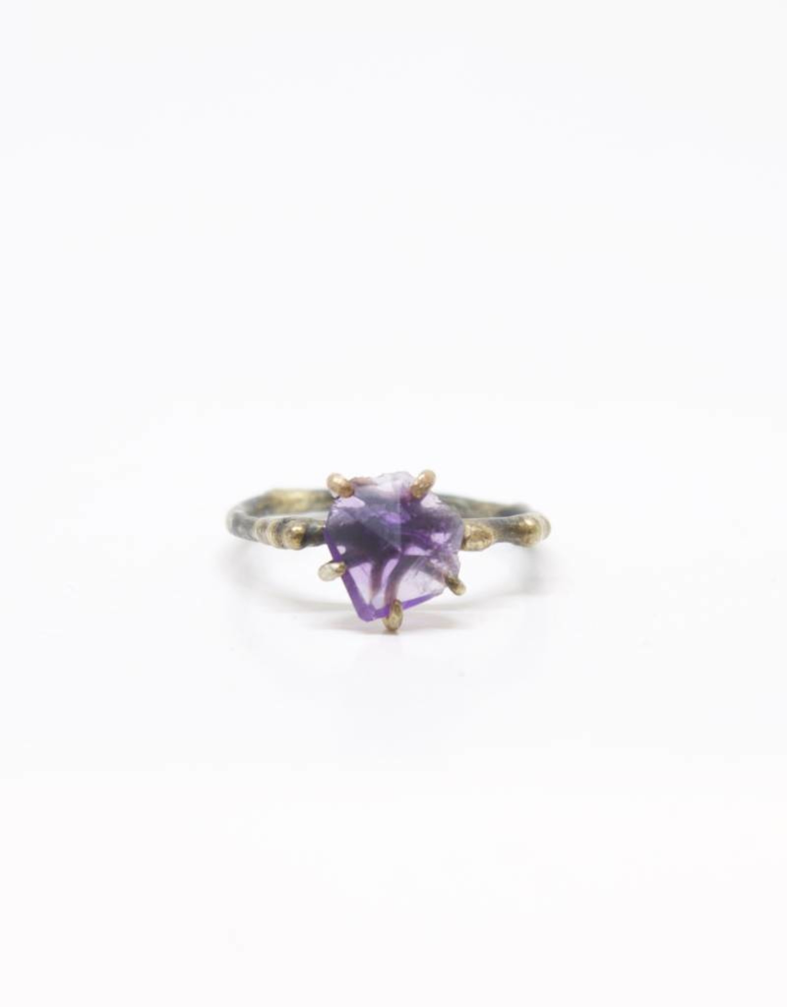 Variance Objects Amethyst Small Ring