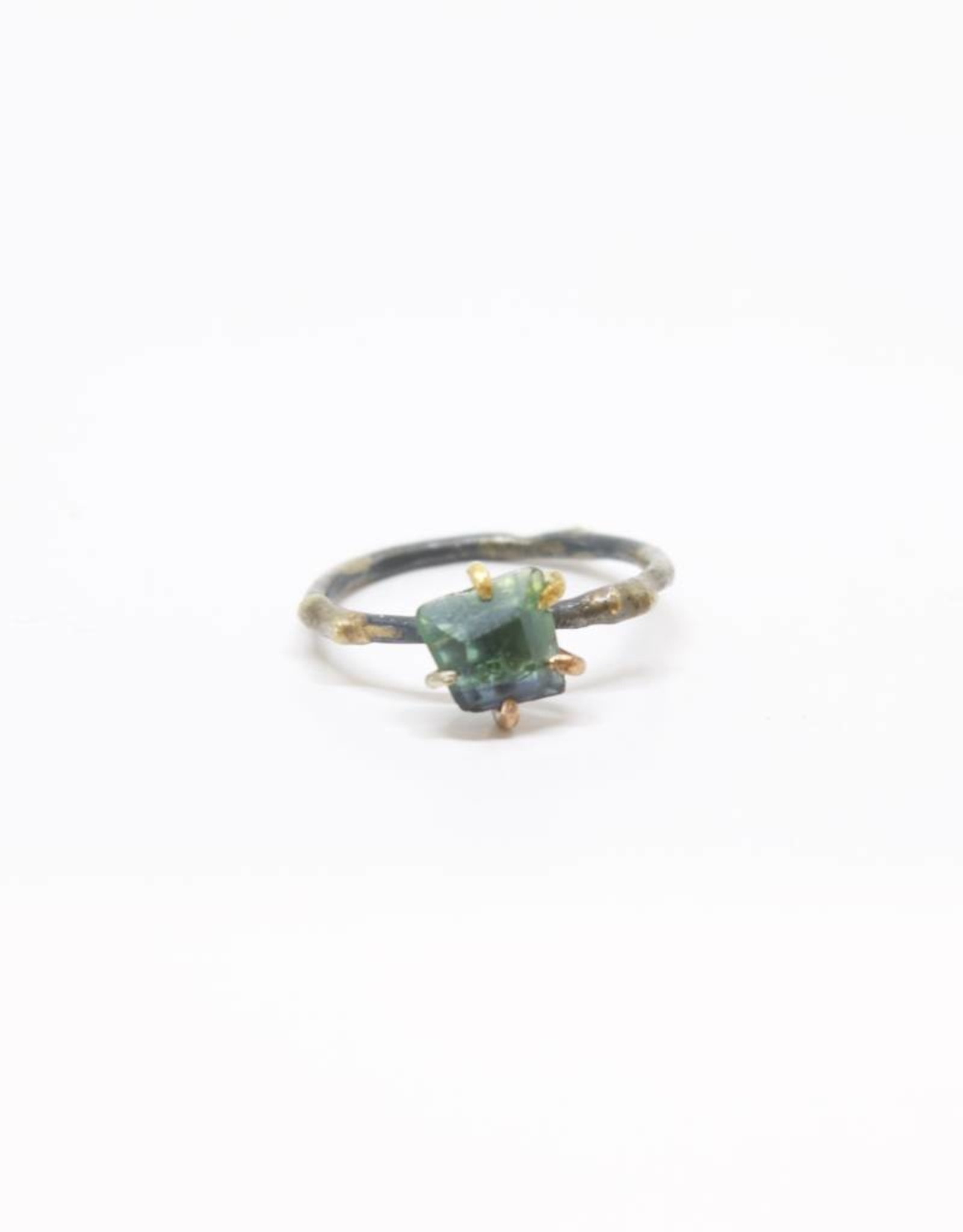 Variance Objects Green Tourmaline Small Ring