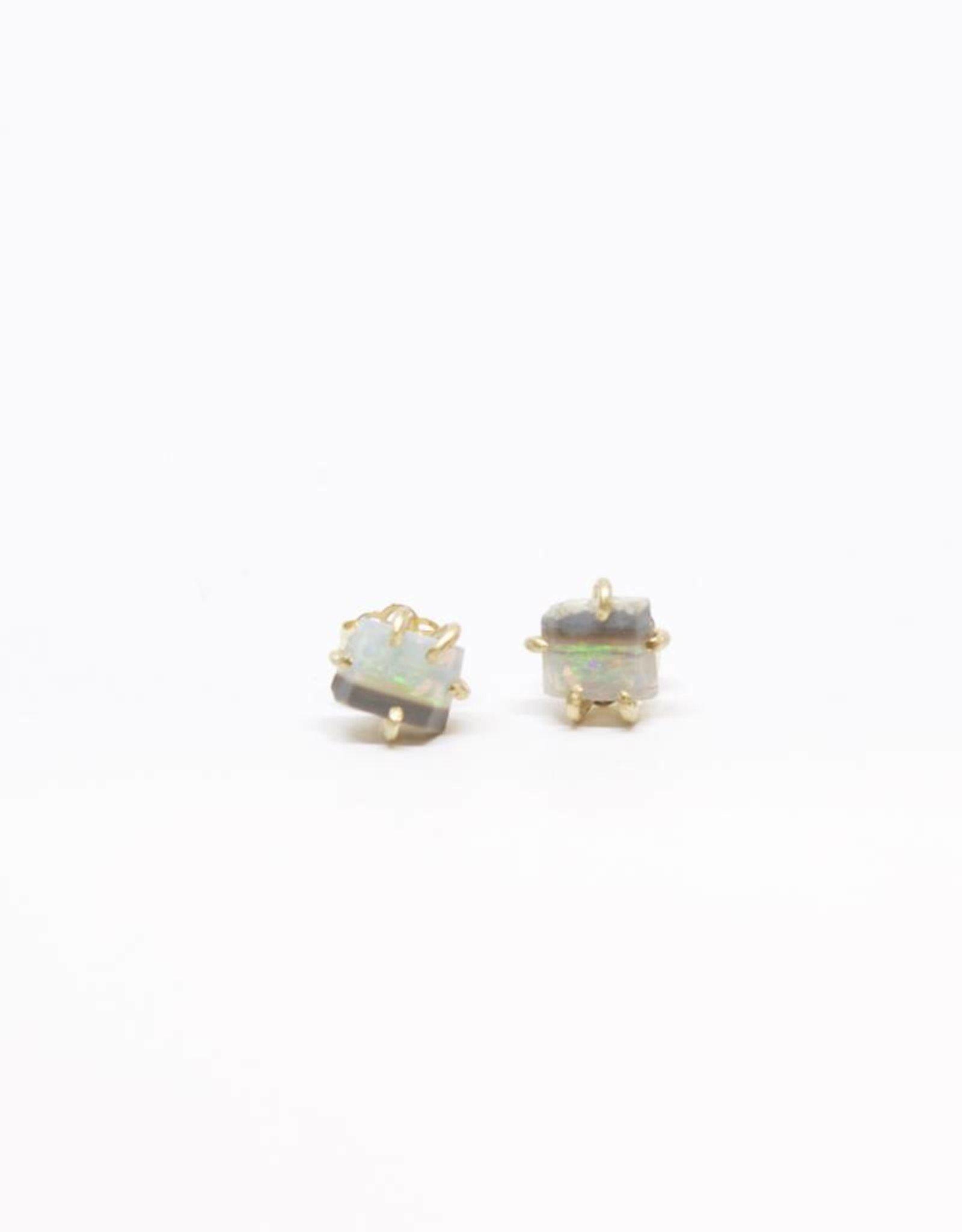 Variance Objects Australian Opal Small Studs