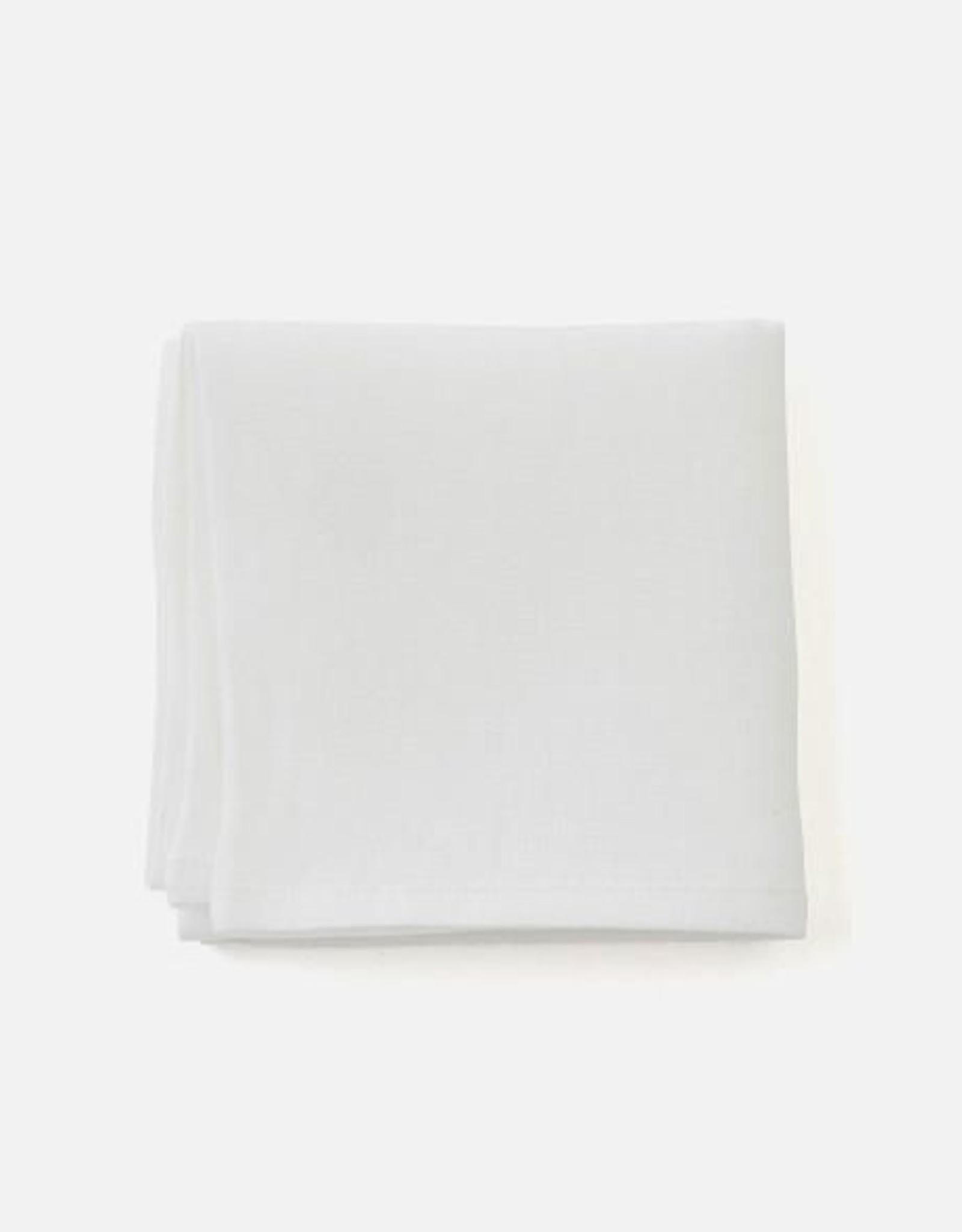 Fog Linen Handkerchief - White