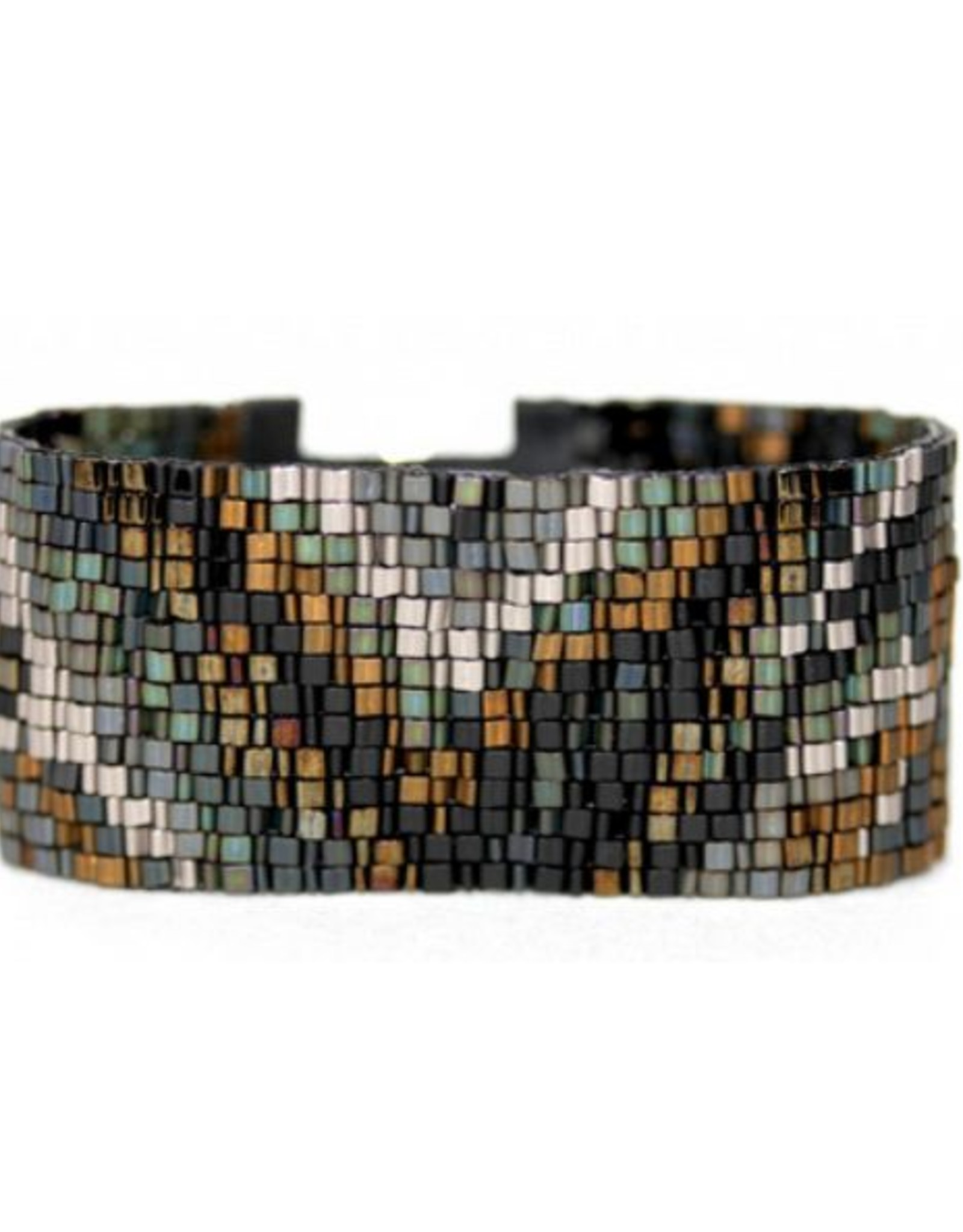 Julie Rofman Jewelry Steel Beaded Bracelet