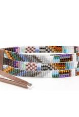 Julie Rofman Jewelry Seaside Triple Beaded Bracelet