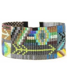 Julie Rofman Jewelry Arrows Beaded Bracelet