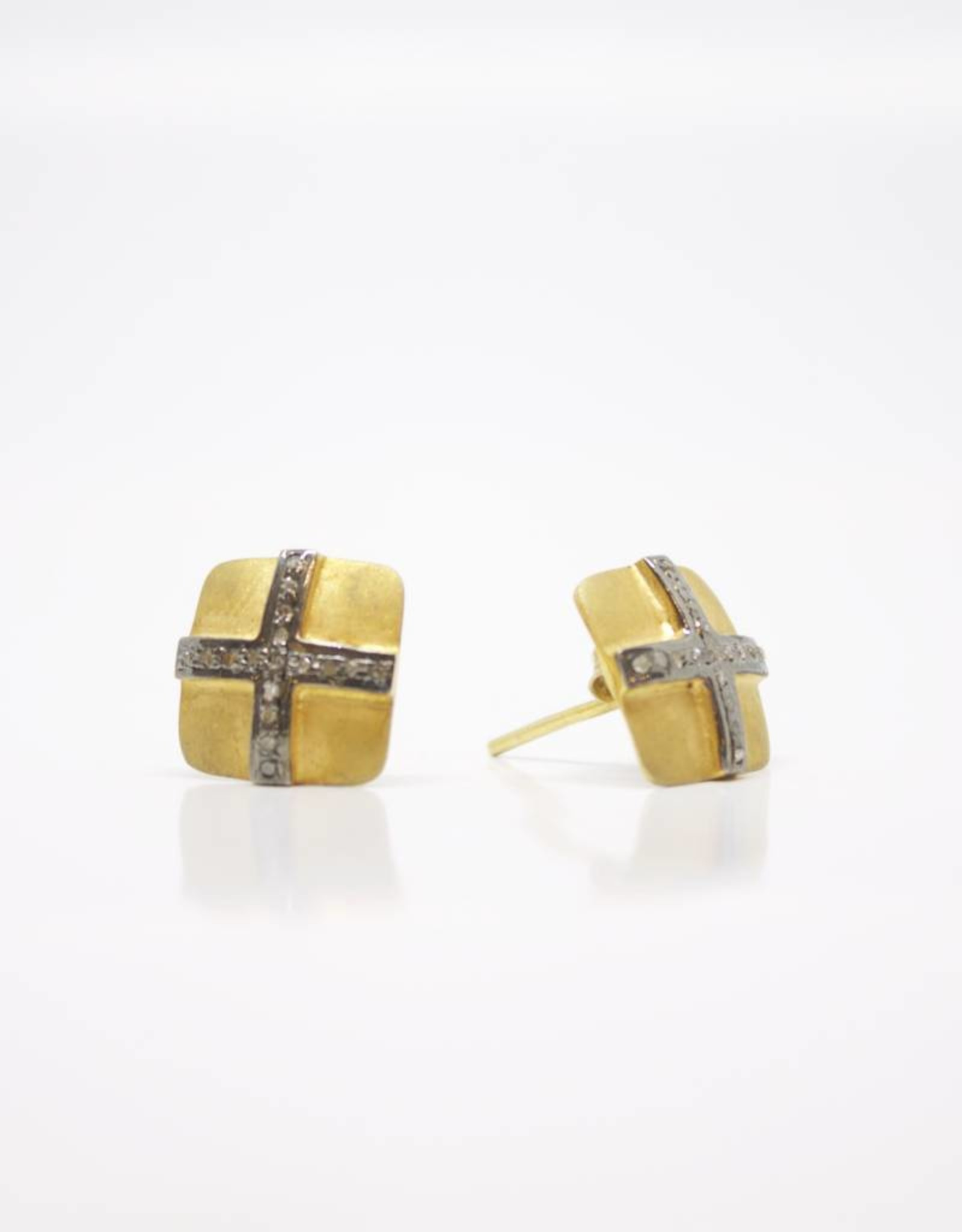 MooMoo Designs Kate Square Earrings