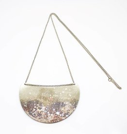 Sibilia Slice Necklace - Moon