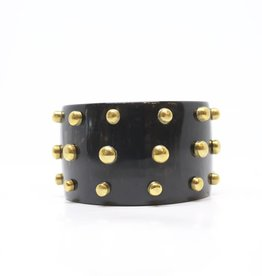 MooMoo Designs TS Raised Stud Bracelet - Dark