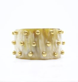 MooMoo Designs TS Raised Stud Bracelet - Light