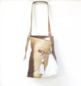 MooMoo Designs Fienn Handbag - Ice White